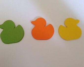 24 Paper duck die cuts