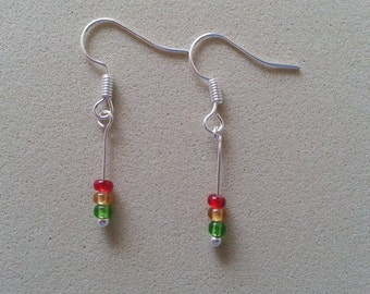 Traffic Light Earrings.