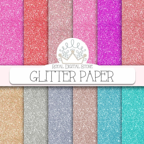 Brillantini carta digitale carta glitter con for Pittura con brillantini