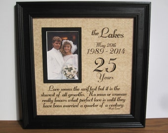 Unique 25th Wedding Anniversary Gift Ideas For Parents : Wedding Anniversary 30th Wedding Anniversary Gift Parent