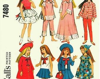 "9"" Skipper ""Little Sister"" Wardrobe Pattern"