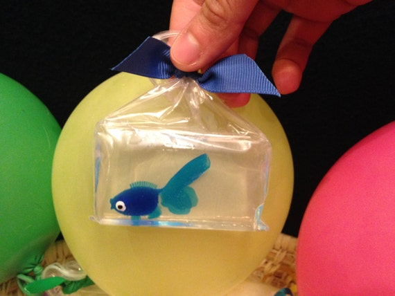 Items similar to fish in a bag handmade glycerin soap for Fish in a bag soap