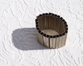 Metal bracelet || vintage