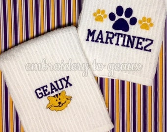 Tiger Towels-Set of 2
