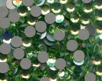 2012 SS20 P*** 30 Swarovski rhinestones flat back SS20 (4mm70) peridot