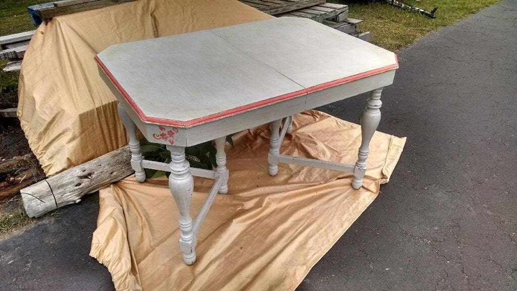 Upcycled country dining table kitchen by rusticbeginningsllc for Upcycled dining table