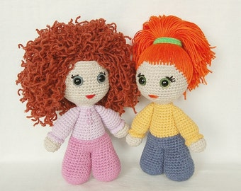 Crochet PATTERN - Doll Dea (amigurumi, crochet, doll)