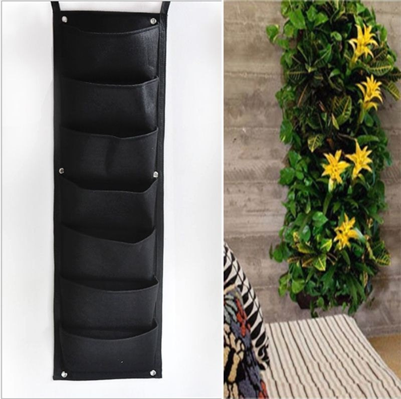 Pocket Hanging Vertical Garden Wall Planter By Happylife2014