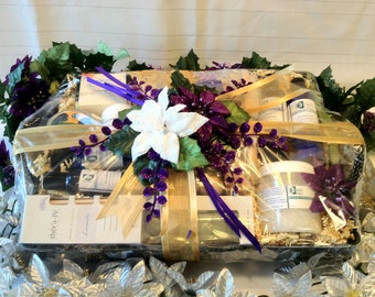 Zen Spa Retreat Gift Basket