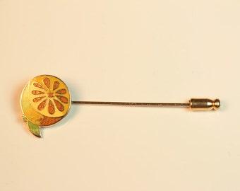 Citrus Orange Stick Pin