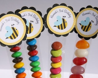 Bumble Bee Lolly Tube Candy Favour