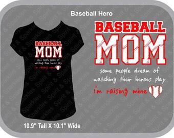 Baseball Hero Addict Ladies T-Shirt