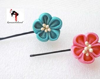 Japanese flower tsumami kanzashi