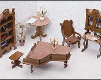 Greenleaf The Library Minature Dollhouse