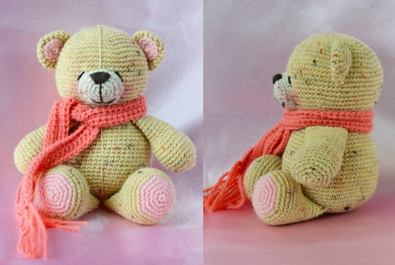Crochet Pattern - My Forever Friends Bear