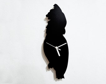 Parrot Silhouette - Wall Clock