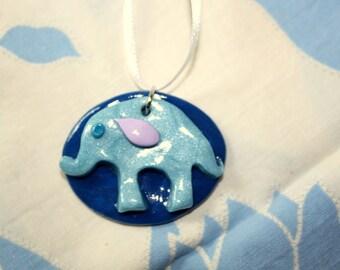 Elephant Medallion Necklace