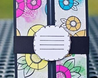 Flower Card, Blank