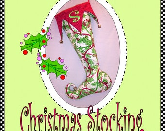 Court Jester Christmas Stocking Digital Pattern (#101) - Instant Download
