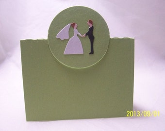 10 place cards for a wedding