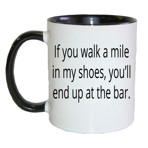 items similar to if you walk a mile in my shoes you ll
