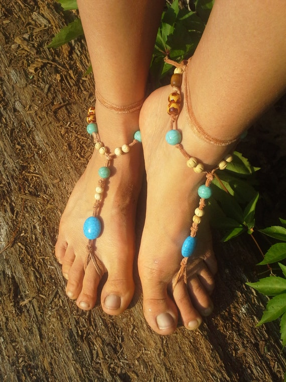 Handmade Barefoot sandals. wedding sandals. boho barefoot sandals, barefoot sandles, crochet barefoot sandals, , yoga, anklet, hippie shoes