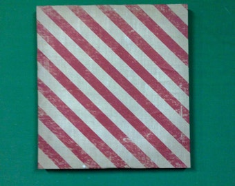Vintage Candy Stripe Picture