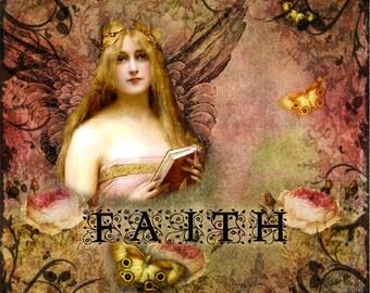 Faith Digital Collage