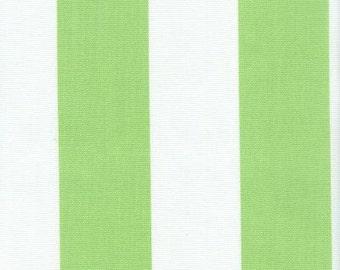 Outdoor Stripe Green & White, Stripe Fabric