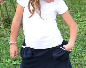 BUNDLE:  Koda Cargo Skirt PDF pattern and tutorial - All sizes (1 to 12) - Girl - By Koda Baby