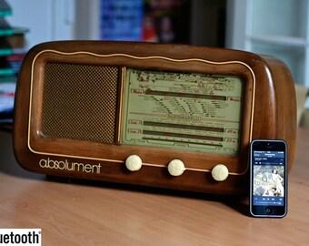 Bluetooth Radiomarelli vintage radio (40W)