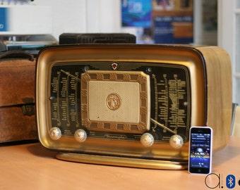 "Bluetooth ""Clarville"" vintage radio (40W)"