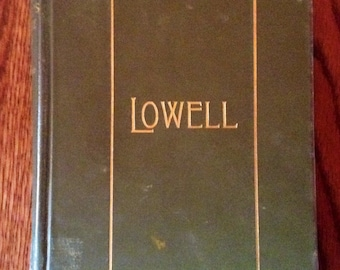 1895 Lowell Book Of Poems
