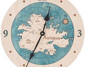 """Antigua  12"""" Clock"""