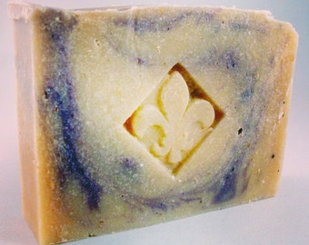 Lavender Field - Handcrafted soap made with goat's milk from South Compton Soap Company