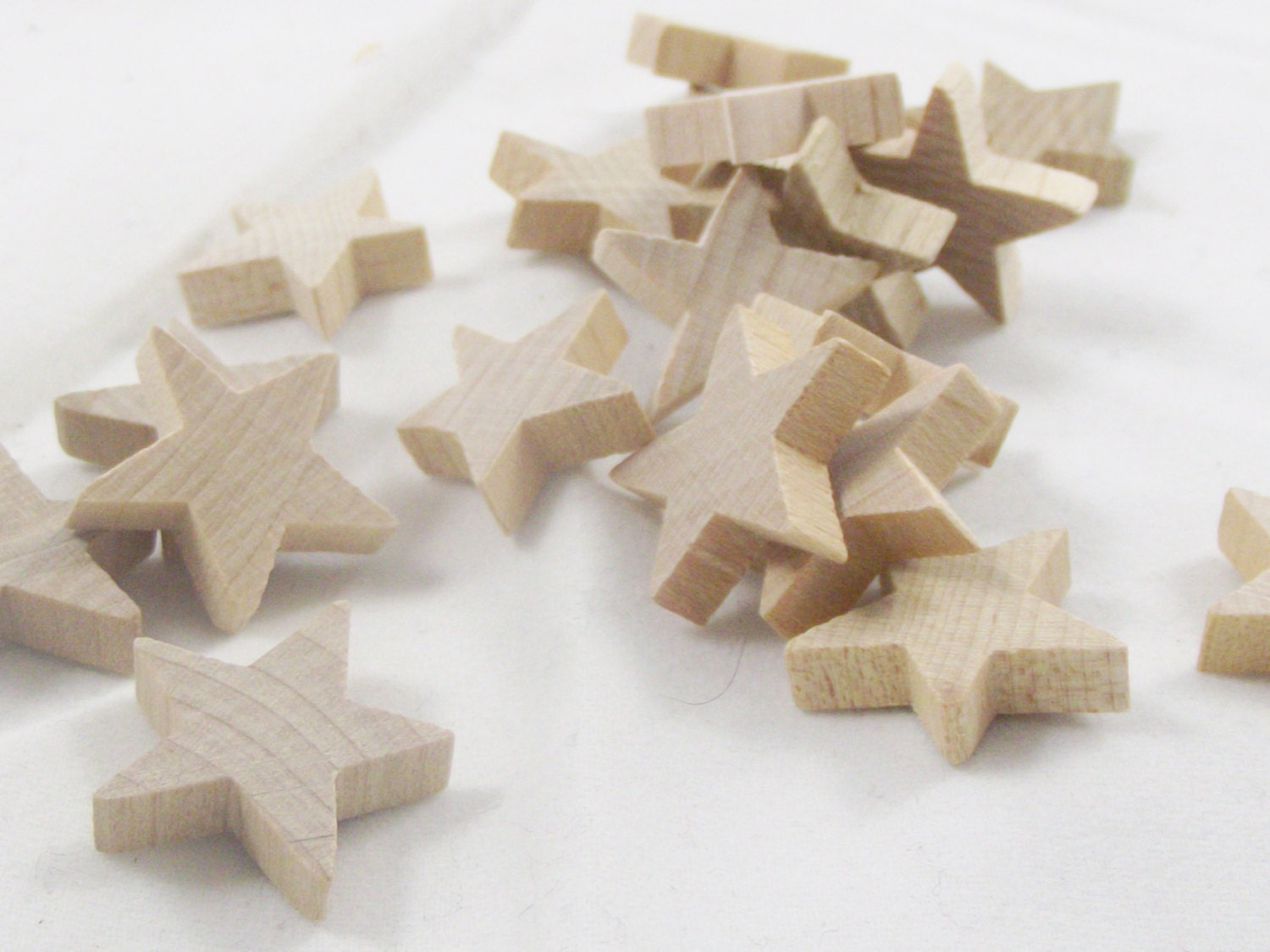 Small wooden stars ornament wood craft supplies decoration diy for Wooden craft supplies online