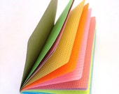 Multi-color Rainbow Traveler's Notebook Insert  - Choice of 5 sizes