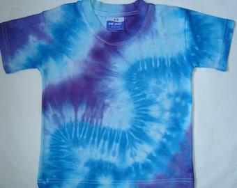 tie dye tshirt kids tshirt age 4-5 - UK