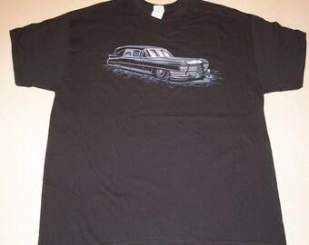 1964 Cadillac hearse T shirt