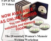 The [Essential] Women's Memoirs Writing Workshop Online Access. 21 Video Lessons - Start and Finish Your Story. Plus Bonuses