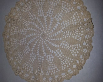 Doily made in the 1920s