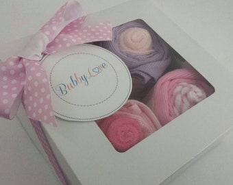 Baby Cupcake Gift Set - Perfect Baby Shower Gifts