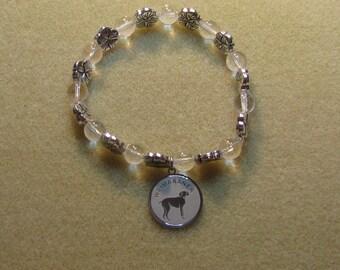 Weimaraner Charm Bracelet