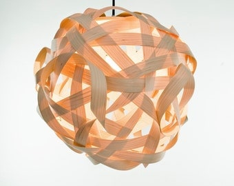 LJ LAMPS sigma - modern pendant lamp from wood