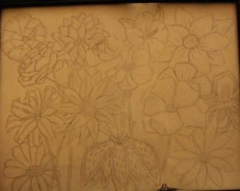 Flower Art, Floral Art, Flower Decor, Floral Decor, Wall Art, Wall Decor, Flower Artwork, Flower Print, Flower Art Print, Floral Art Print