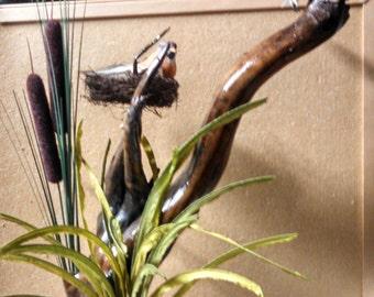 Recreation of Nature - an original driftwood creation centerpiece