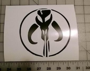 Boba Fett Sticker #3