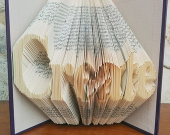 Create - Folded Book Art - Fully Customizable, maker, artist, creator