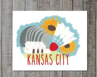 Kansas City Print