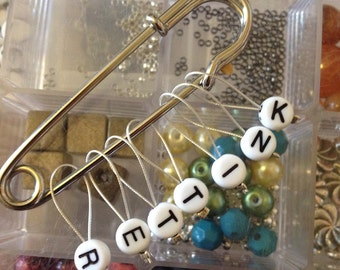 Set of 7 stitch markers